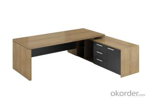 One Seat Wooden Modern Desk Computer Desk