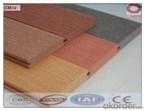 Recycled Wood Plastic Composite Decking Outdoor