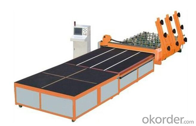 PLC Control Glass Cutting Production Line in China