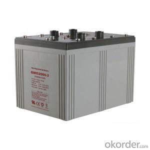 Battery Solar Wind Power System High Temperature 2V 1000AH