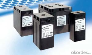 Battery Solar Wind Power System High Temperature 2V 2000AH