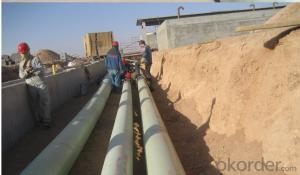 FRP  Pipe with Economy Characteristic in High Strenght and High Quality
