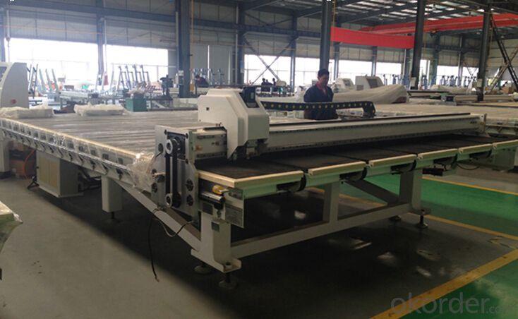 2015 Full and Semi automatic glass cutting machine for Bulk Glass Cutting