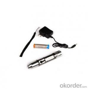 A640 gem XRE Q3 Led Bulb 1x18650 Batt Middle Switch Single Mode Aluminum Alloy Flashlight