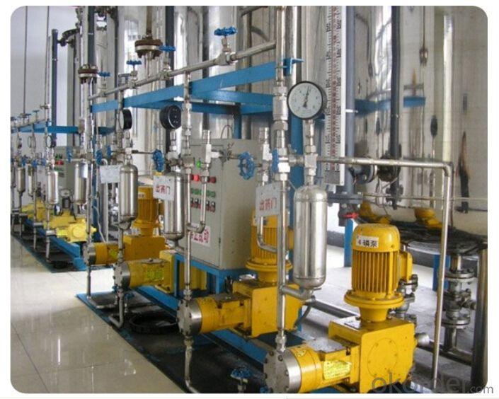 High Pressure Hydraulic Plunger Postion Dosing Metering Pump