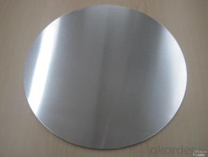 Hot Rolled Aluminum Circle for Cooking Utensils 1050 1060 1100 3003