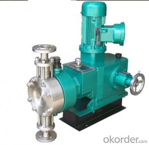 High Pressure Hydraulic  Postion Dosing Metering Pump