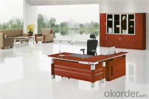 Vaneer Office Executive Table with Environmental Material