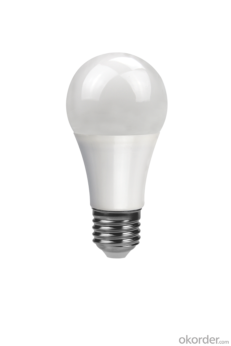 LED BULB LIGHT A60 E27 9W CRI 80 High Lumen