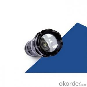 Led Bulb 1xAAA Batt Tail Switch Single Mode Aluminum Flashlight