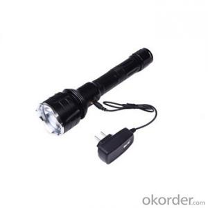 T6 Led Bulb Middle Switch 3 Modes Aluminum LED Flashlight