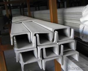 Steel JIS U Channel Hot Rolled High Quality