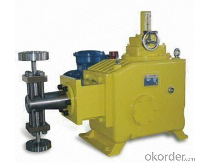 High Pressure Hydraulic Chemical Dosing Metering Pump