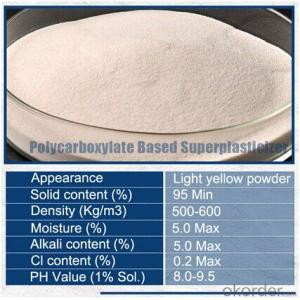 Polycarboxylate Ether Superplasticizer Powder(98% )