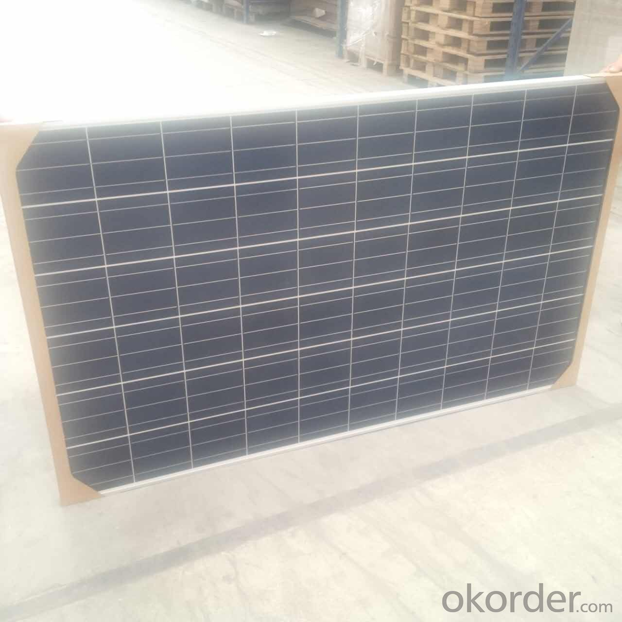 250W CNBM Monocrystalline Silicon Panel for Home Using