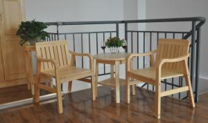 Sun Lounger Chairs Solid Teak Wood Outdoor Garden Furniture
