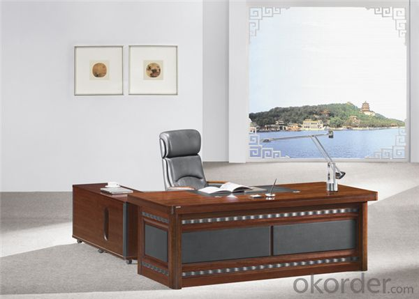 Office Table with MDF and Vaneer for Manager