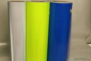 High Visibility Self Adhesive Reflective Sheets Material