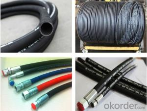 Cloth Surface Industry Rubber High Pressure Hydraulic Hose