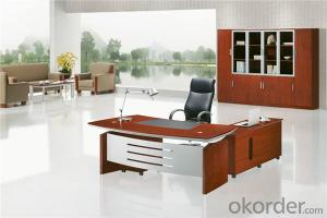 Office Desk with MDF and Vaneer for Manager
