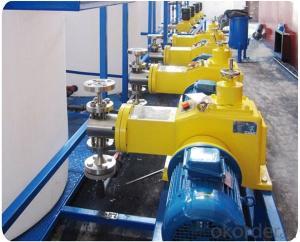 Electric Mechnical Diaphragm Dosing Metering Pump