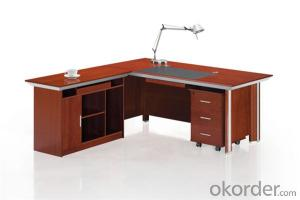Office Desk with MDF and Vaneer for Executive