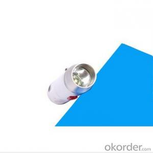Gem Testing XPE R2 Led Bulb 1x123A Batt Middle Switch 3 Modes Stainless Steel Flashlight