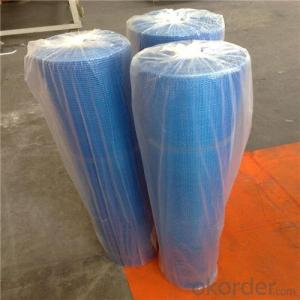 Alkali Resistant Coated Fiberglass Soft Mesh 140g/m2 5*5mm  High Strength