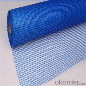 Alkali Resistant Coated Fiberglass Soft Mesh 75g/m2 5*5mm  High Strength