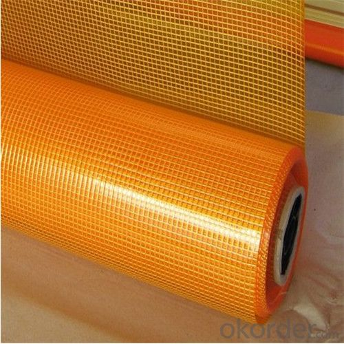 Alkali Resistant Coated Fiberglass Soft Mesh 95g/m2 5*5mm  High Strength