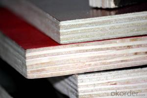 Red Film Faced Plywood Formworks For Concrete Formwork