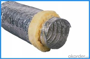 One Layer Aluminum Flexible Duct for Air Conditioning Refrigeration