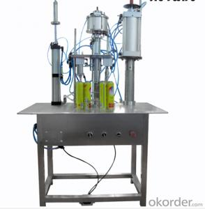 DS-BQGF-10 Semi-automatic Complete Set Aerosol Filling Machine