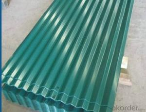Premium Colored Corrugated Roofing Steel Sheet
