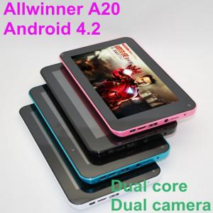 7 Inch WiFi Dual Core Camera Tablet PC CM701