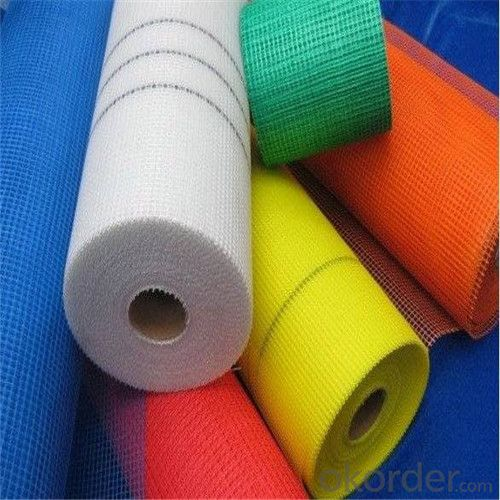 Alkali Resistant Coated Fiberglass Soft Mesh 85g/m2 5*5mm  High Strength