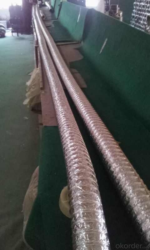 Aluminium Flexible Ductings PIR pre-insulated Ducting
