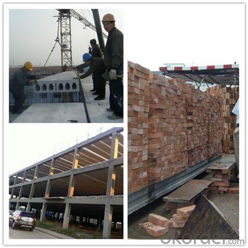 Mobile Concrete Hollow Core Roof Production Line