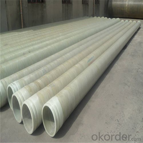 GRE PIPE ( Glass Reinforced Epoxy pipe)Excellent Heat-Rsistant Capability