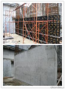 2015 plastic concrete formwork system, better than aluminium / peri formwork system