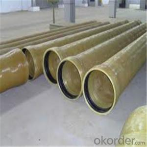 GRE PIPE ( Glass Reinforced Epoxy pipe)Chemical Sewage