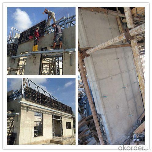 Modular formwork, abs plastic panel, concrete slab formwork scaffolding system