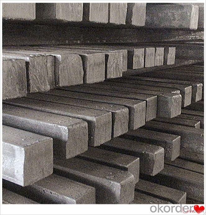 Square Steel Billet Q235,Q255,Q275,Q345,3SP,5SP,20MnSi Made in China