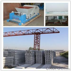 Prefabricated Concrete Hollow Core Machine