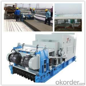 External Wall Slabs and Floor Planks Machine