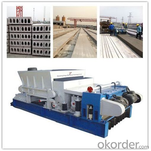 Load Bearing Hollow Core Slab Forming Machine