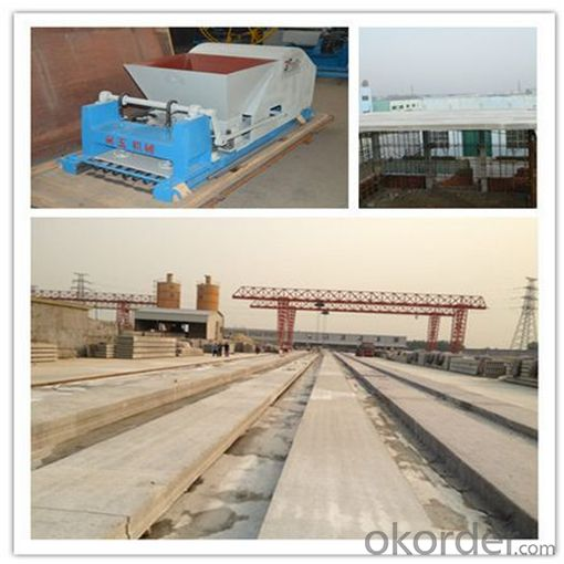 Concrete HC Slabs for Floor Forming Machine
