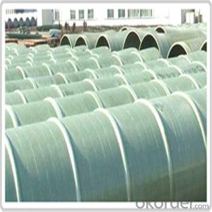 GRE PIPE ( Glass Reinforced Epoxy pipe)Pipeline of Brine Water