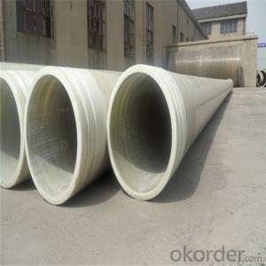 GRE PIPE ( Glass Reinforced Epoxy pipe)Water Distribution System