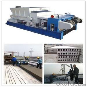 Prefab House Concrete Hollow Core Roof Slab Machine